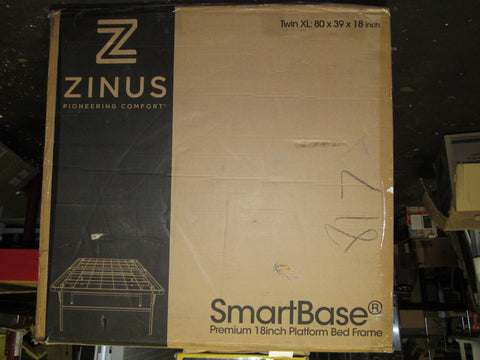 Zinus 18 Inch Premium SmartBase Mattress Foundation, Twin XL