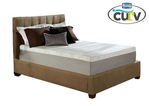 Simmons Curv 10 Inch Gel Memory Foam Mattress, Queen