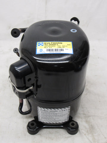 Kulthorn WJ 2440Z-2 Commercial Refrigeration Compressor, Black