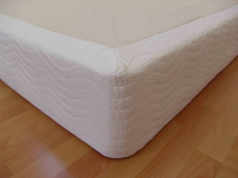 DynastyMattress Full Size Wood Box Foundation Ror Memory Foam, Latex, And Air Mattresses