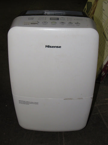 Hisense DH-70K1SDLE Energy Star 2-Speed Dehumidifier, 70-Pint
