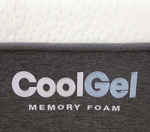 Classic Brands Cool Gel Memory Foam 12-Inch Mattress, Queen