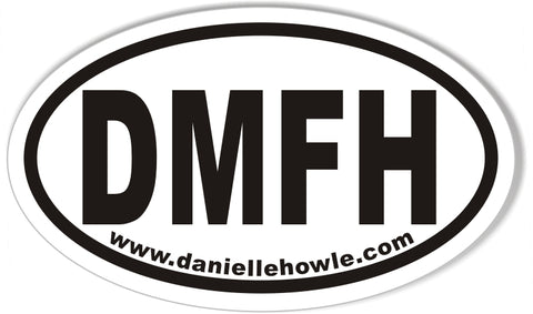DMFH Custom Euro Oval Stickers