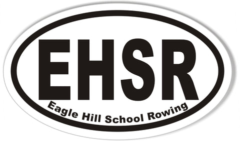 EHSR Oval Bumper Stickers