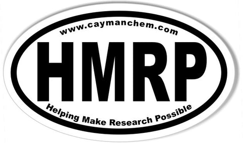 HMRP Custom Oval Bumper Stickers