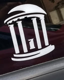 UNC Old Well Vinyl Decal
