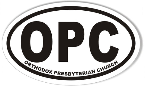 OPC Oval Bumper Stickers