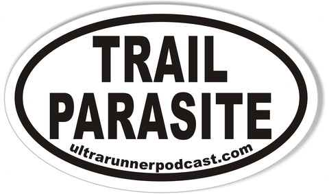 TRAIL PARASITE Custom Oval Bumper Stickers