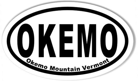 OKEMO Oval Stickers