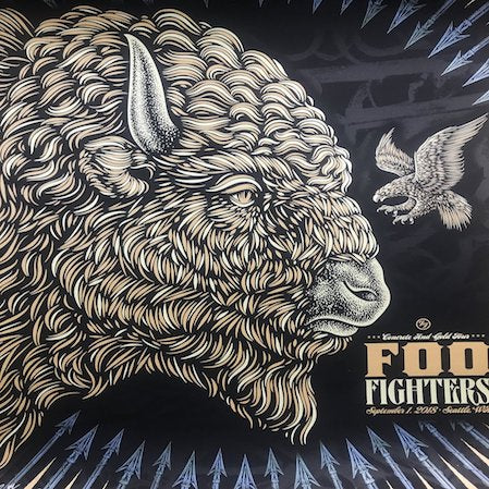 Utilize These Concert Posters To Let Your Foo Fighters Spirit Shine
