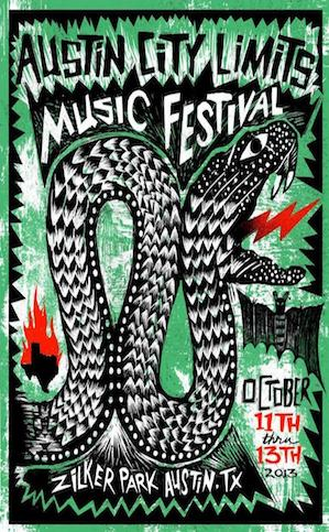 Show Your Support For The Austin City Limits Musical Festival With These Posters