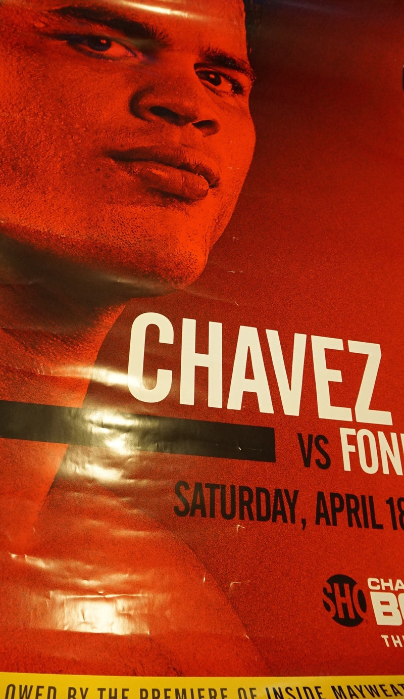 Julio Cesar Chavez Jr vs. Fonfara - poster print Boxing UFC MMA Fight