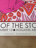 Queens of the Stone Age - 2013 Jermaine Rogers poster print Boston MA kills