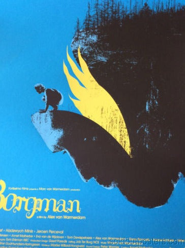Borgman - Jay Shaw 2014 poster print MONDO hand numbered movie cinema