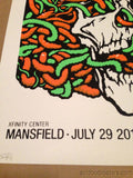 Soundgarden - Ames Brothers 7/29/2014 poster print Mansfield, MA Xfinity Center