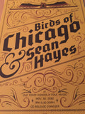 Birds of Chicago Sean Hayes - Delicious Design poster print Chicago, IL folk