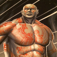 Drax - Phantom City Creative 2014 poster print Guardians of the Galaxy MONDO