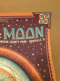 Phases of the Moon Festival Justin Helton Danville Kennekuk County poster print