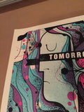 Tomorrow Never Knows - 2014 Delicious Design poster print Chicago, IL