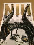 Queens of the Stone Age - 2014 Rhys Cooper poster NIN QOTSA Vector Arena Auc