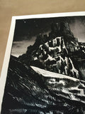 Game of Thrones Gift for the Night's King - Tim Doyle poster print Black & White
