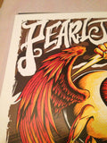Pearl Jam - 2013 Brandon Heart poster print Worcester, MA 1st edition show