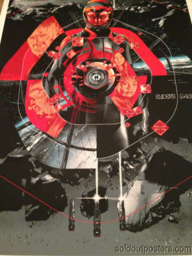 Ender's Game - 2013 Martin Ansin poster print Mondo numbered 1st edition