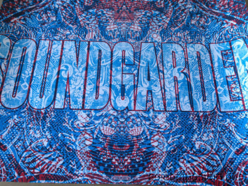 Soundgarden - 2013 Jared Conner poster print Toronto Canada night 2 two S/N