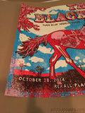 The Black Keys - 10/28/2014 Gregg Gordon poster print Edmonton, AB Rexall Place