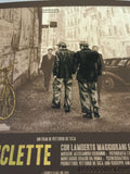 The Bicycle Thief - XUL1349 poster print VARIANT Italian version FAMP art