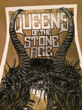 Queens of the Stone Age - 2014 Rhys Cooper poster NIN QOTSA Adelaide Center