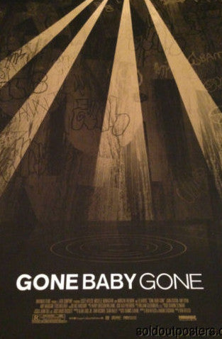 Gone Baby Gone - Adam Simpson poster print Mondo numbered 1st edition