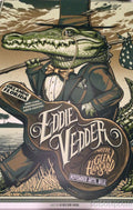 Eddie Vedder - 2012 Munk One poster print Orlando FL Signed and #ed