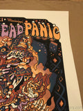 Widespread Panic 2014 Guy Burwell poster print Mississippi Coast Coliseum Biloxi