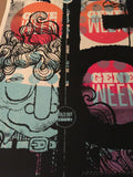 Geen Ween - 2/13/10 Lincoln Hall Delicious Design poster print Chicago, IL