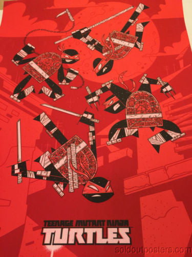 Teenage Mutant Ninja Turtles - 2014 Andrew Kolb Poster Print TMNT Nickelodeon