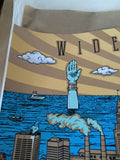 Widespread Panic - 2014 Shock Studios poster print Cleveland OH Jacobs Pavillion