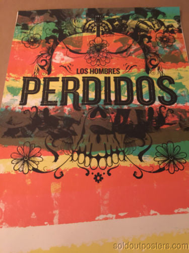 Perdidos Los Hombres  - Delicious Design poster print Chicago, IL signed and #'d