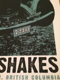 Alabama Shakes - 2013 Last Leaf poster print Vancouver BC, Orpheum Theatre