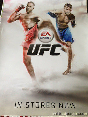 UFC poster print MMA mixed martial arts EA Sports promo poster