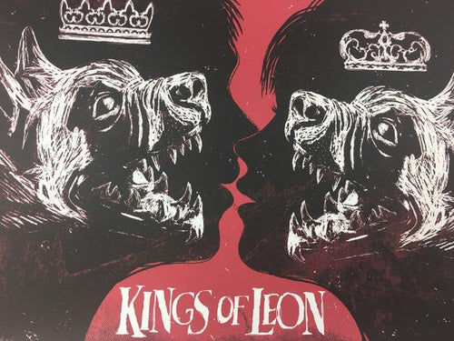 Kings of Leon - 2009 Todd Slater Poster Philadelphia, PA The Spectrum