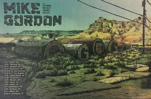 Mike Gordon - 2018 Landland Poster Tour