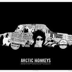 Arctic Monkeys - 2014 Third Alert Designs poster Covington