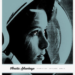 Arctic Monkeys - 2014 Third Alert Designs poster Miami