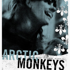 Arctic Monkeys - 2014 Third Alert Designs poster St. Louis