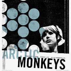 Arctic Monkeys - 2014 Third Alert Designs poster St. Petersburg