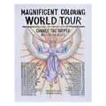 Chance The Rapper - OJ Hays poster MCWT Magnificent Coloring World Tour