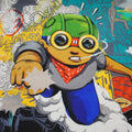 Advertisement #59 - 2015 Hebru Brantley poster print art hand signed #'d