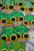 The Boys Part 3 - 2015 Hebru Brantley poster print art hand signed
