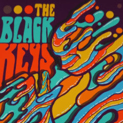 The Black Keys - 2015 Brad Klausen poster print Jake Bugg Salt Lake City